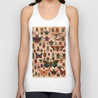bugs Tank Tops featuring Love Bugs by Angela Rizza