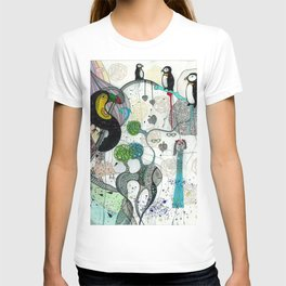 """Toucan and penguins"" T-shirt"