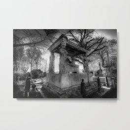 Kensal Green Cemetery London Metal Print