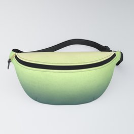 green , yellow , white , Ombre Fanny Pack