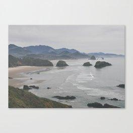 ecola point Canvas Print