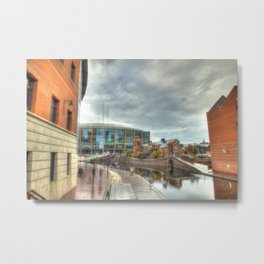 Barclaycard Arena and the Malt House Pub Metal Print