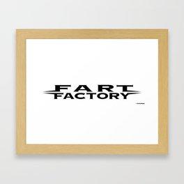Fart Factory Framed Art Print