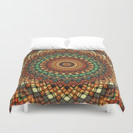 Native Soul Mandala 2 Duvet Cover