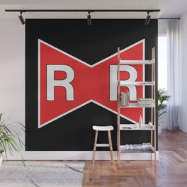 Red Ribbon Army Wall Mural