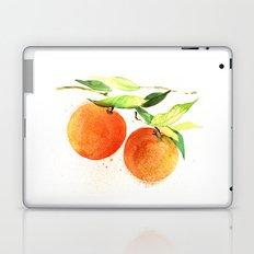Watercolor oranges Laptop & iPad Skin