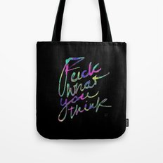 DON'T CARE TOO MUCH Tote Bag