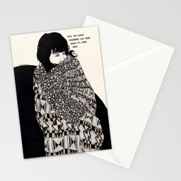 Why You Wanted To Be ? Stationery Cards