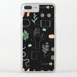 Witch Starter Kit: Potion - Illustration Clear iPhone Case