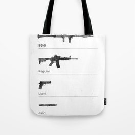 Typographer's Arsenal Tote Bag