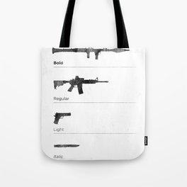 Typographer's Arsenal Tote Bag