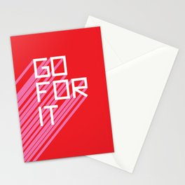 Go For It Stationery Cards