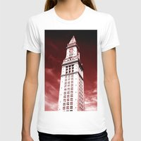 custom T-shirts featuring Custom House by Gold Street Prints