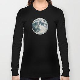 Moon Portrait 3 Long Sleeve T-shirt