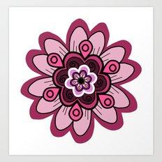 Flower 15 Art Print