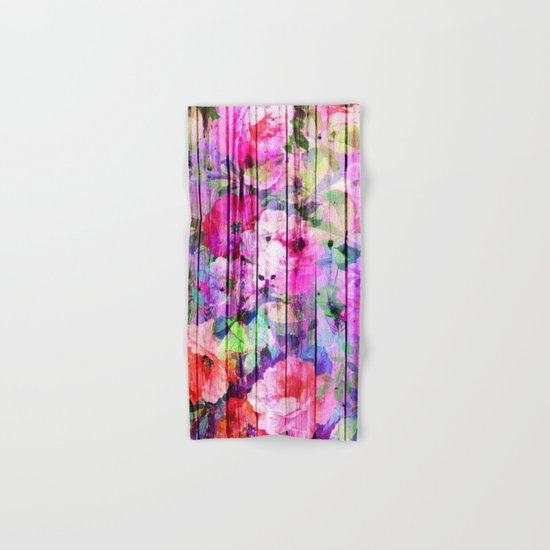 Flowers in the Wood Hand & Bath Towel