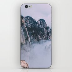 Mountains #fog #society6 iPhone & iPod Skin