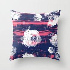 Roses & Skulls Throw Pillow
