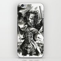 aragorn iPhone & iPod Skins featuring Aragorn by Juan Pablo Cortes