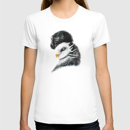 Tattooed Lady Owl T-shirt
