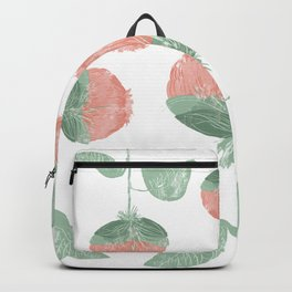 Puffy Flowers on Repeat Backpack