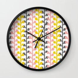 Sprig - Pink Lemonade Wall Clock