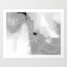 Shaded Grey Art Print