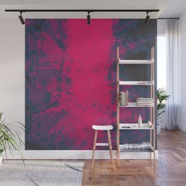 Shattered Purple Wall Mural