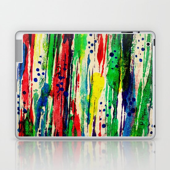 Disjointed Stripes Laptop & iPad Skin