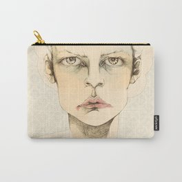 """""""portrait of anybody"""" Carry-All Pouch"""