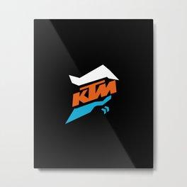 KTM Thunder Metal Print