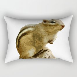Cutout Chipmunk Rectangular Pillow