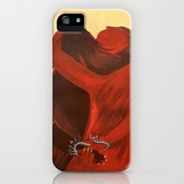 Hold Me Close iPhone Case