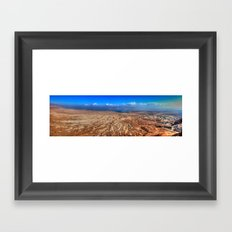 The Dead Sea Series #2  Framed Art Print