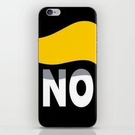 NO DONALD J TRUMP iPhone Skin