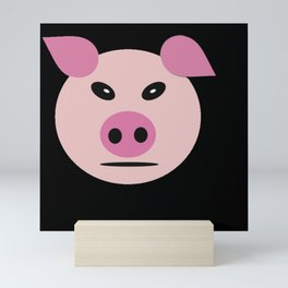 Pig snout Mini Art Print