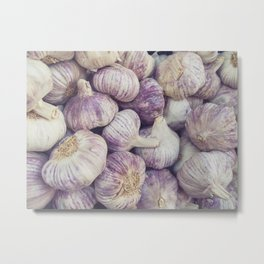Purple Garlic 2 Metal Print