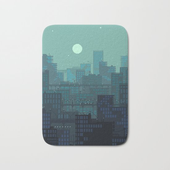Midnight Blues Bath Mat