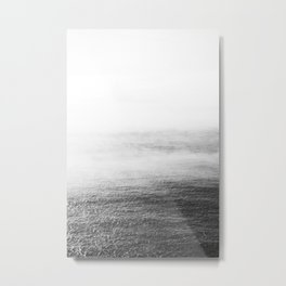 Whitewash Metal Print