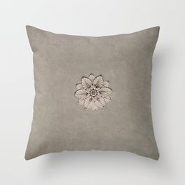 Flowers of Florence Throw Pillow