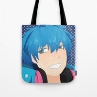 dmmd Tote Bags featuring Aoba by Liyu