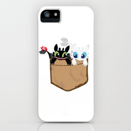 Lovely pocket made of skies iPhone Case