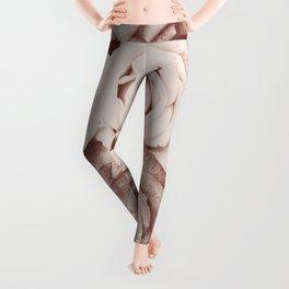 Latte roses Leggings