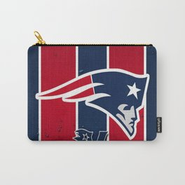 N.E Patriots Print Carry-All Pouch