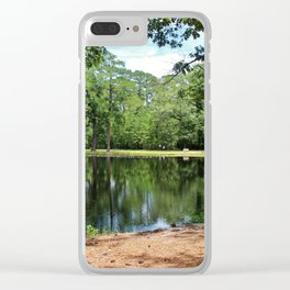 A Swimming Hole Clear iPhone Case