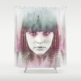 Forest Exposition Shower Curtain