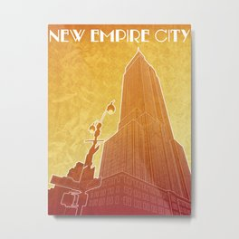 New Empire City Metal Print