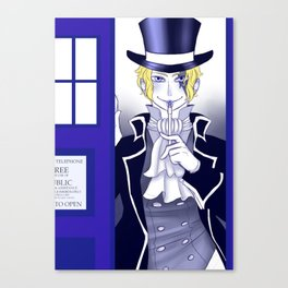 The New Doctor Canvas Print