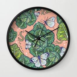 garden harmony Wall Clock