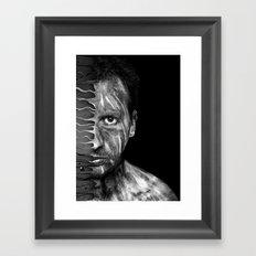 selfportrait ! Framed Art Print